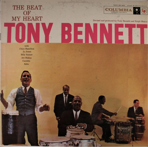 Tony Bennett The Beat Of My Heart Vinyl Lp Columbia