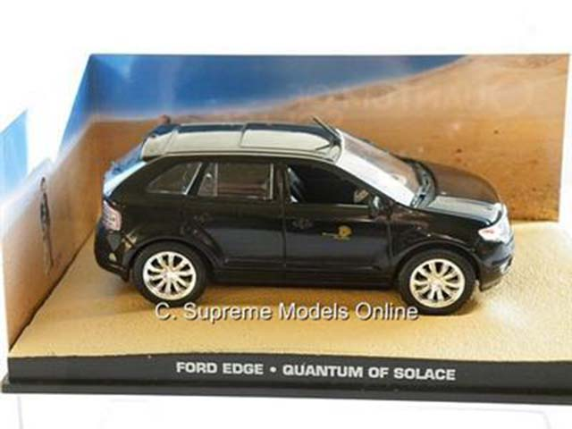 James Bond Ford Edge Quantum Of Solace Model Car Craig Packaged Issue Kq