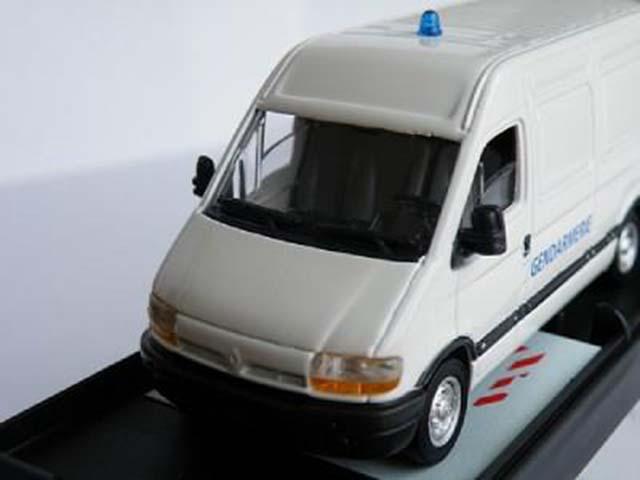 RENAULT MASTER MODEL VAN POLICE GENDARMERIE 1:50 SCALE WHITE VEREM K8