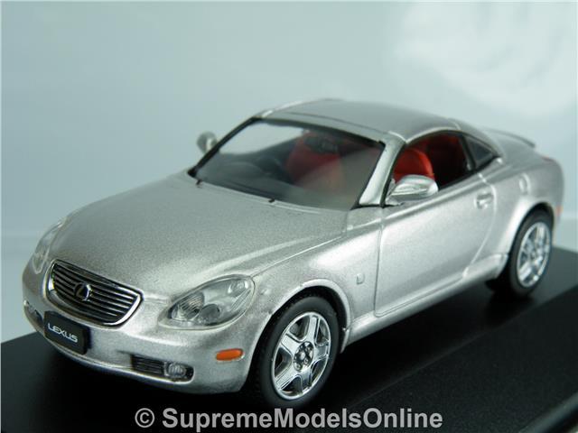 lexus sc430 2005 model car 1 43rd scale premium silver. Black Bedroom Furniture Sets. Home Design Ideas