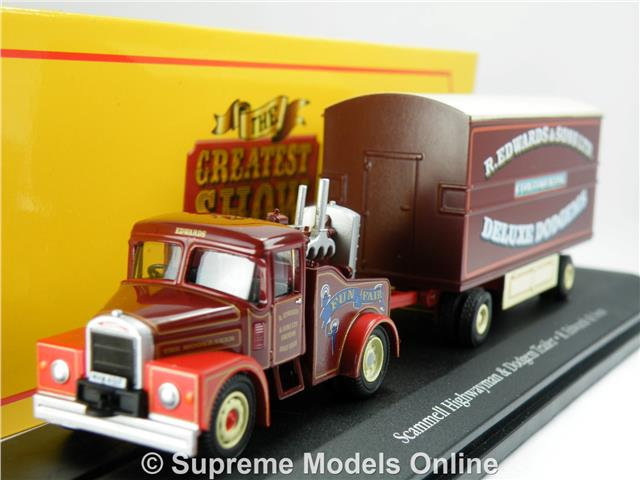 ATLAS EDITIONS 1:76 SCAMMELL CONTRACTOR /& LOAD PAT COLLINS FAIR 4654108