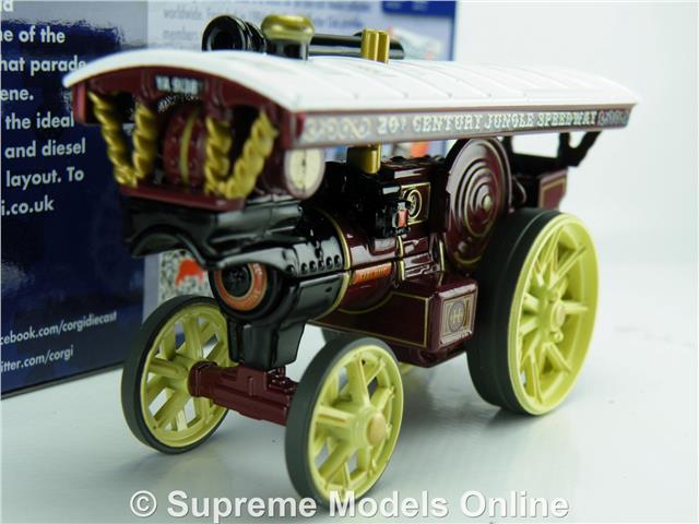 CORGI DG125021 BURRELL SHOWMANS JUNGLE SPEEDWAY FAIRGROUND ENGINE 1:76 SCALE T3Z
