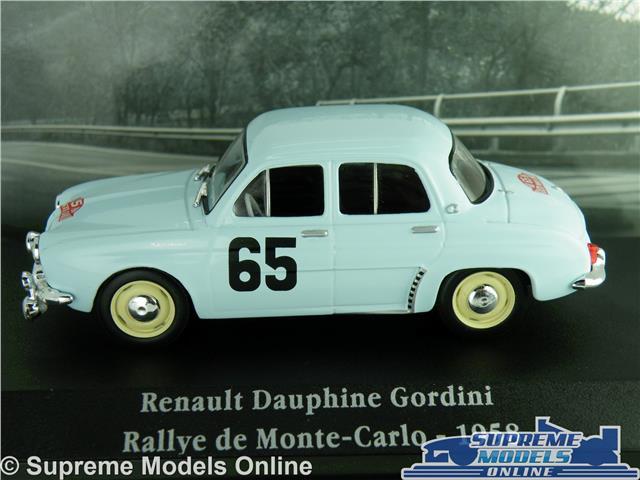 Renault 17 Gordini rally monte carlo 1975 #20 1:43 Ixo//Altaya maqueta de coche