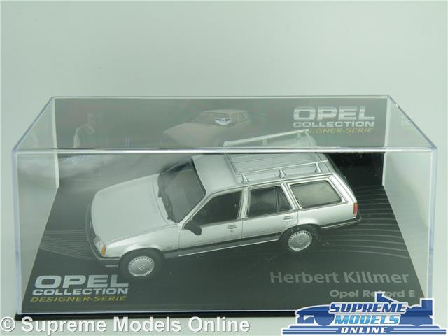 1:43 Altaya Opel Collection Opel Rekord E Herbert Killmer silver