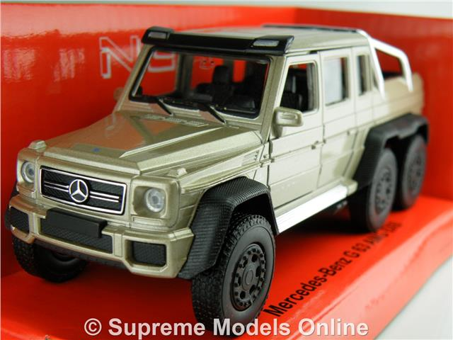 MERCEDES BENZ G CLASS 63 AMG 6X6 CAR MODEL GOLD 1:36 1:38 SIZE WELLY OFF  ROAD T3