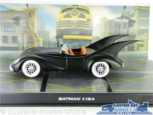 BATMOBILE BATMAN CAR MODEL 1:43 SIZE EAGLEMOSS IXO AUTOMOBILIA ANIMATED SERIES T