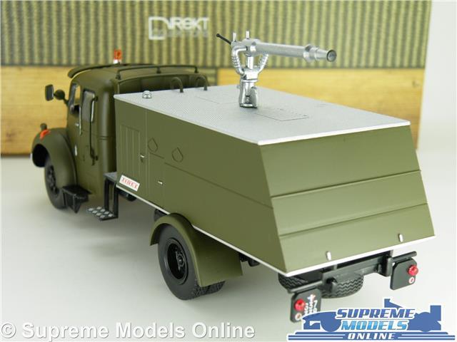 ZIS-6//BM-13 KATIOUCHA MODEL TRUCK LORRY 1:43 SCALE MILITARY ARMY ZIS ROCKET K8