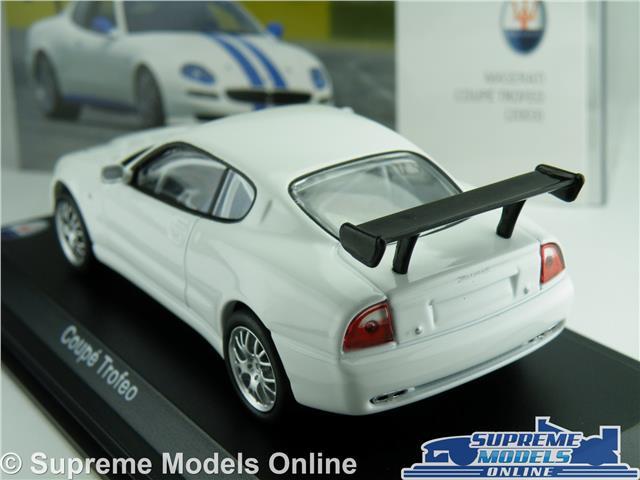 1:43 Leo Models Maserati Coupe Trofeo 2003 white