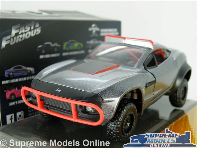 Details about FAST & FURIOUS LETTY'S RALLY FIGHTER MODEL CAR 1:32 SCALE  JADA 98302 GREY F8 K8