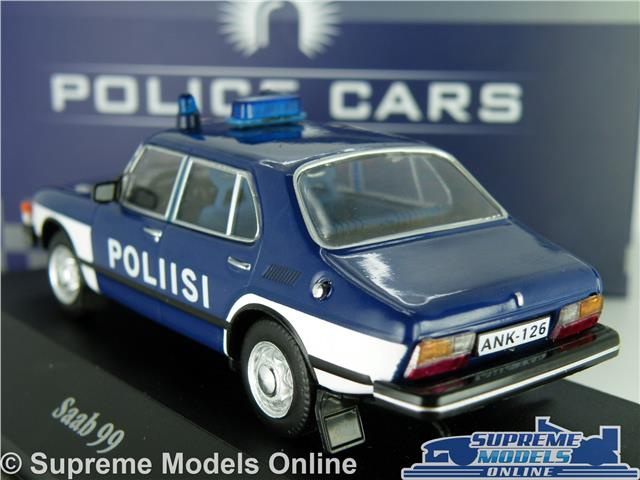 Supreme Models SAAB 99 POLICE MODEL CAR 1:43 SCALE IXO ATLAS 7598014
