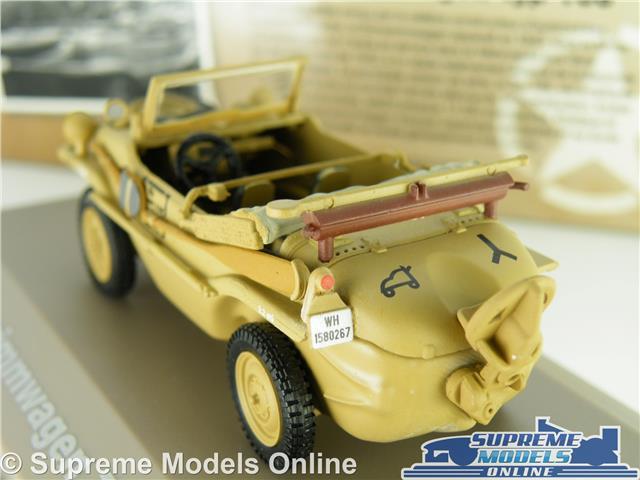 BL21U Atlas Ixo 1//43 Panzer WW2 Schwimmwagen Typ 166 Porsche