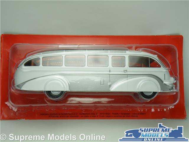 Mercedes Benz LO3100 Bus Modelo 1939 Alemania 1:43 tamaño IXO stromlimen Blanco T34Z