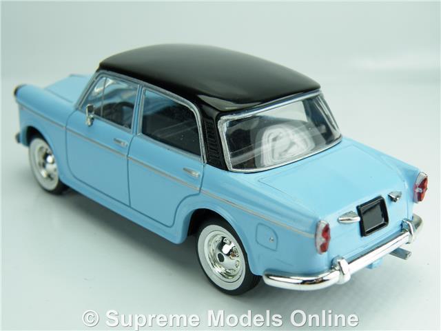 Starline Fiat 1100 Coche Modelo Azul 1:43 Talla 4 Dr Saloon Pedestal T34Z
