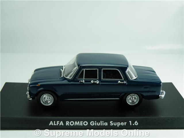 SCALA 1\43 ALFA ROMEO GIULIA SUPER 1.6