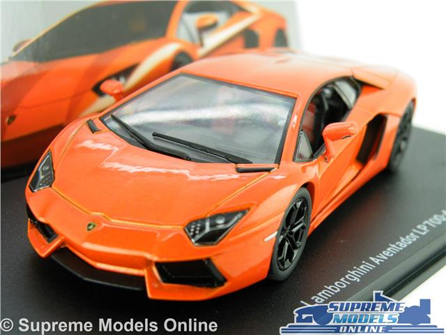 Lamborghini Aventador Lp700 4 Car Model 1 43 Size Orange Ixo Super