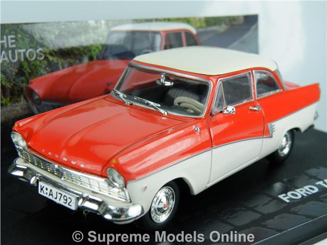 Ford Taunus Coupe Car 1 43 Size Model 57 59 De Luxe 2 Door Coupe