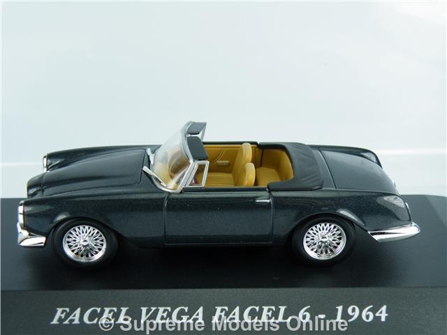 FACEL Vega 6 1964 coche modelo escala 1//43RD Gris empaquetado problema PKD K8967Q ~ # ~