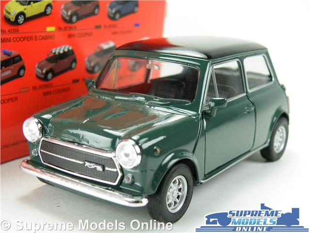 Morris Austin Mini Cooper Car Model Green 1 36 1 38 Size Opening