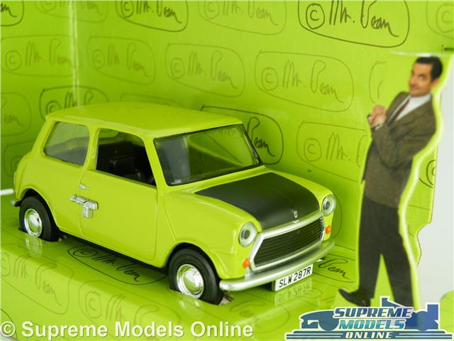 Mr Bean S Mini Car Model Green 1 36 Size Beans Corgi Cc82110 Leyland