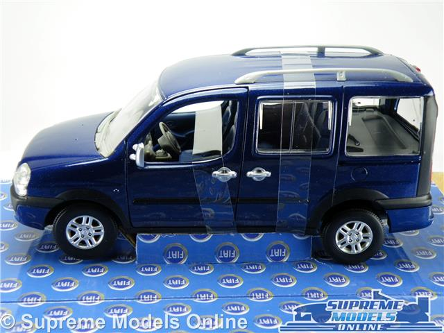 fiat doblo model car malibu 1 24 scale blue norev 7710503. Black Bedroom Furniture Sets. Home Design Ideas