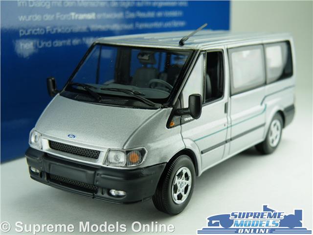 ford transit mk6 model van minibus 1 43 scale minichamps. Black Bedroom Furniture Sets. Home Design Ideas