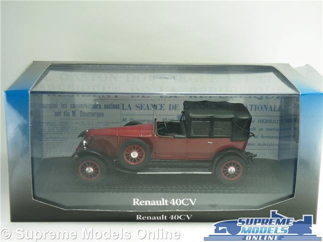 NOREV ATLAS RENAULT 40 CV PRESIDENT GASTON DOUMER 1924 AU 1//43