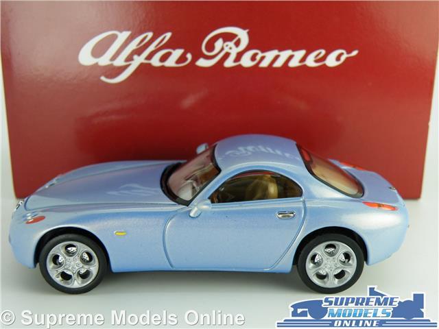 ALFA ROMEO NUVOLA MODEL CAR 1:43 SCALE SOLIDO TIN DEALER SPECIAL 203051 BLUE K
