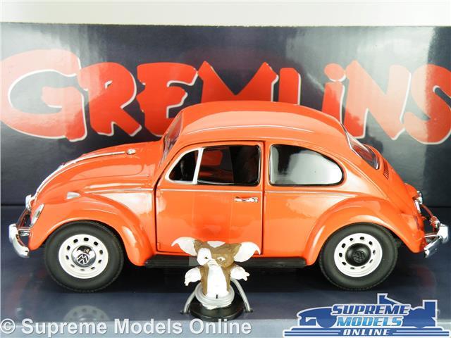 Gremlins Volkswagen Escarabajo Coche Modelo 1:24 Talla Grande Película Rojo Greenlight Gizmo R