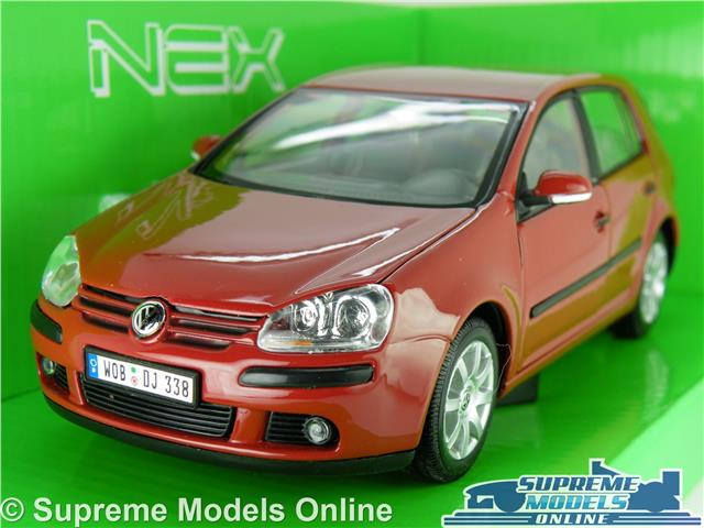 Vw Volkswagen Golf Mk5 Model Car 1 24 Scale Red Welly Opening Parts Large Mkv K8 Ebay
