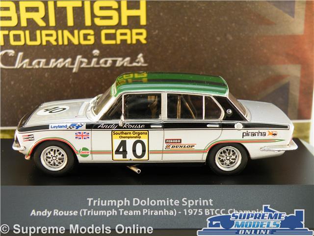 Triumph Dolomite Sprint Andy Rouse 1975 BTCC coche 1:43 Atlas Diecast