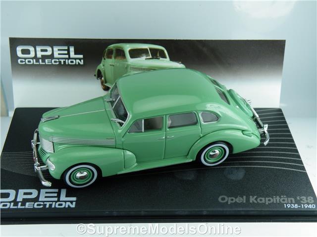 Die cast 1//43 Kapitan /'38 1938-1940 Green by Ixo