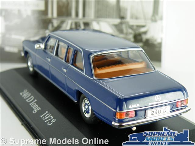 MERCEDES BENZ 240 D LONG MODEL CAR 1973 1:43 SCALE IXO 240D LIMOUSINE K8