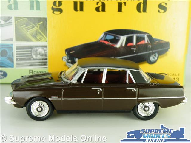 CORGI LLEDO VANGUARDS ROVER 3500 V8 MEXICO BROWN CAR MODEL VA06505 1:43