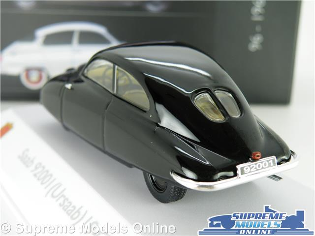 1:43 atlas saab 92001 ursaab 1947 Black