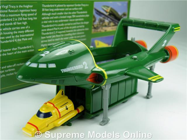Thunderbirds 2 Amp 4 Model Space Ship Gerry Anderson