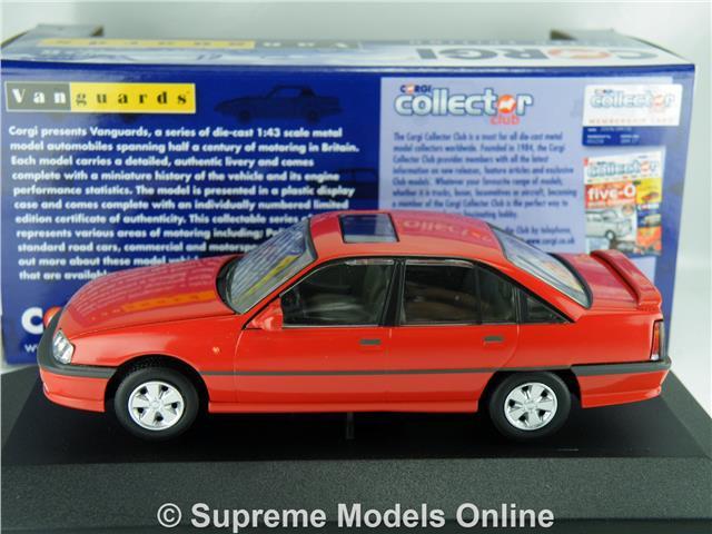 Corgi VA14002A Opel Carlton Modelo de Coche carmín rojo 1:43 escala vanguardias K8