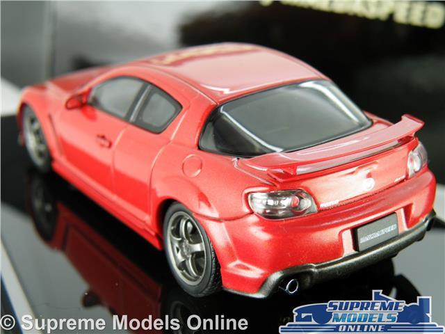 MAZDA RX-8 RX8 MODEL CAR 1:43 SCALE VELOCITY RED AUTOART 55933 AUTO ART R-X8 K8
