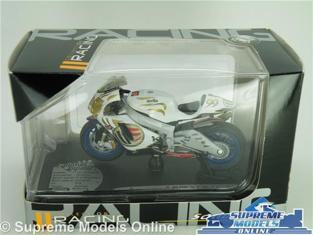 1//18  MOTO GP APRILIA 250 RSV JEREMY Mc WILLIAMS  SOLIDO EN BOITE