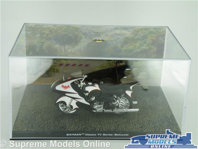 Batmans Batcycle Modèle Moto CLASSIC TV SERIES 1:22 Taille Batman T3 Vélo