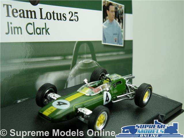 Exceptionnel TEAM LOTUS 25 FORMULA 1 RACING MODEL CAR JIM CLARK 1:43 SCALE ONE 1963 K8Q