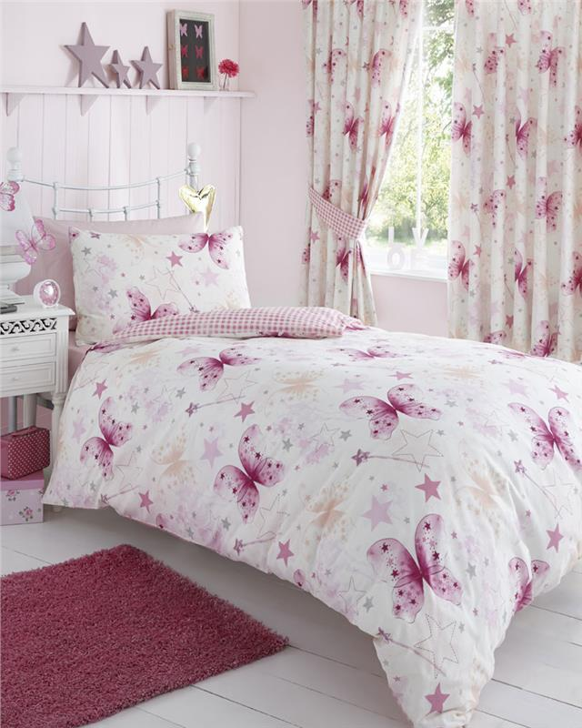 Pink Bed Sets And Curtains Curtain Menzilperde Net