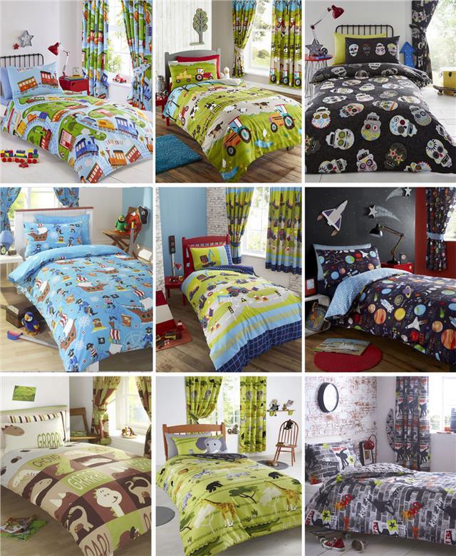 Boys Kids Bedding Duvet Sets Childrens, Full Size Bedding For Toddler Boy