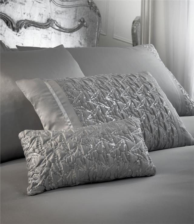 ea3c4d38a176 Luxury bedding duvet cover sets grey or white silver sequin sparkle quilt  cover