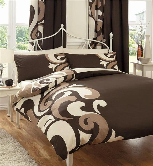 New funky print bed sets duvet quilt cover sheet for Parure de lit 240x260