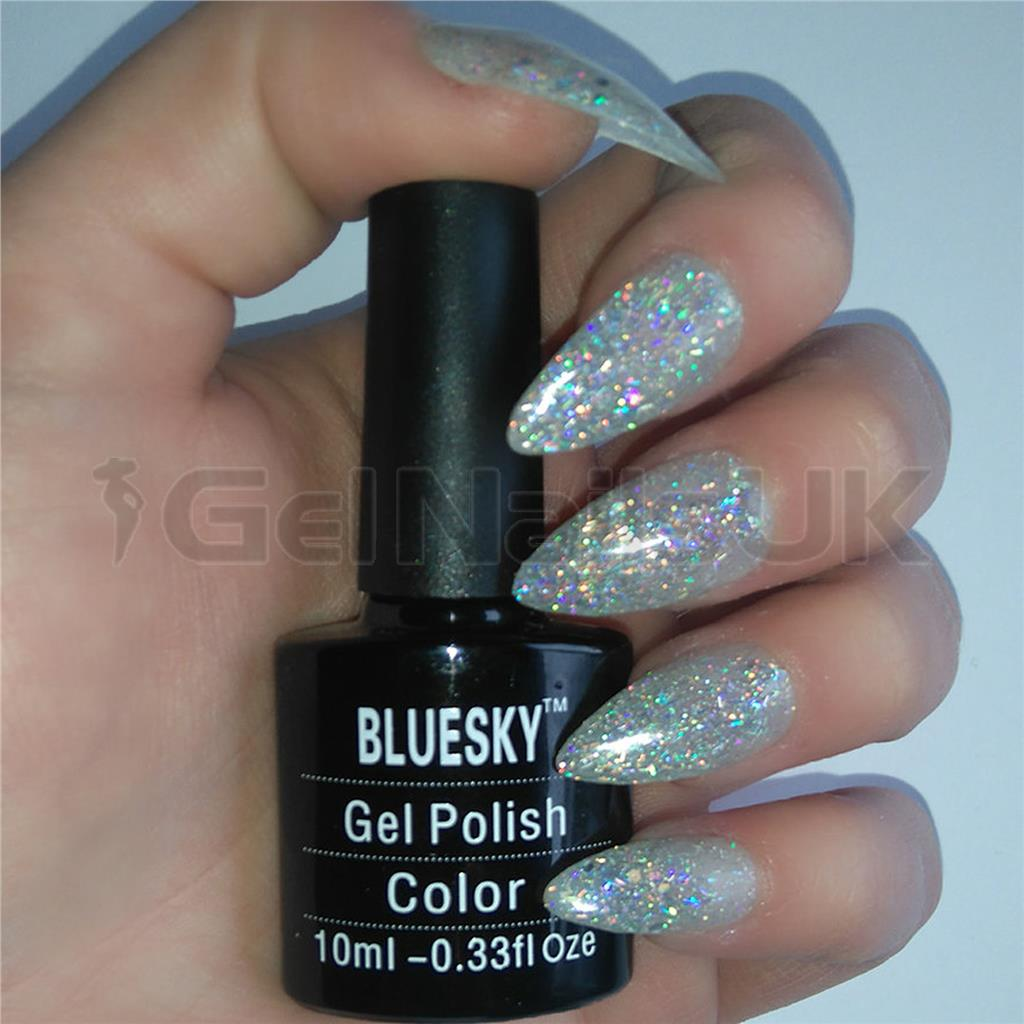 Bluesky Glitter Gel Polish KS2238 BEDAZZLED UV/LED Soak Off Nail ...