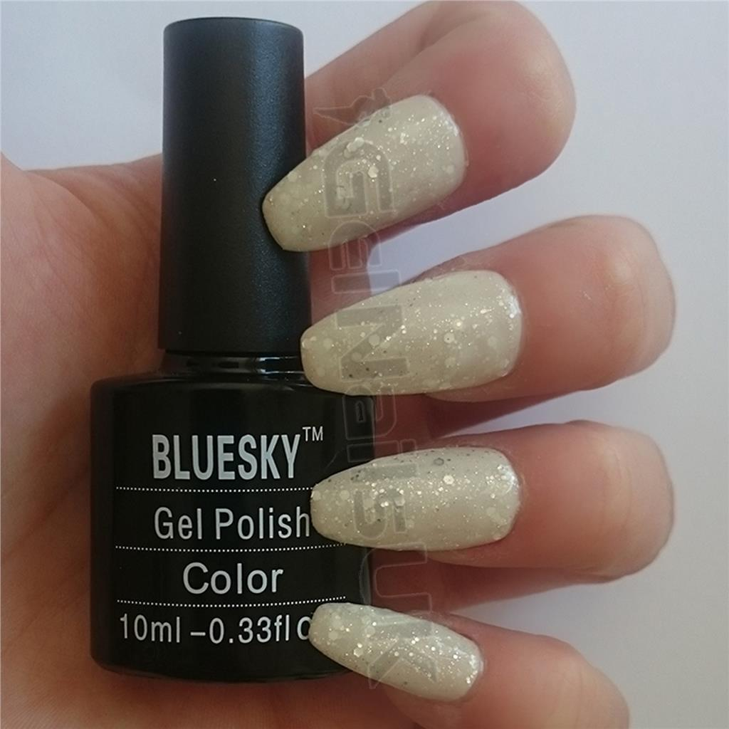 Bluesky WHITE DIAMOND Special Edition UV/LED Soak Off Gel Nail ...