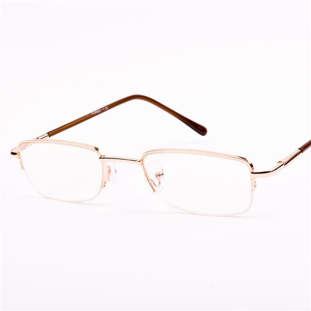 new mens semi rimless metal reading glasses 1 1 25 1 5 1