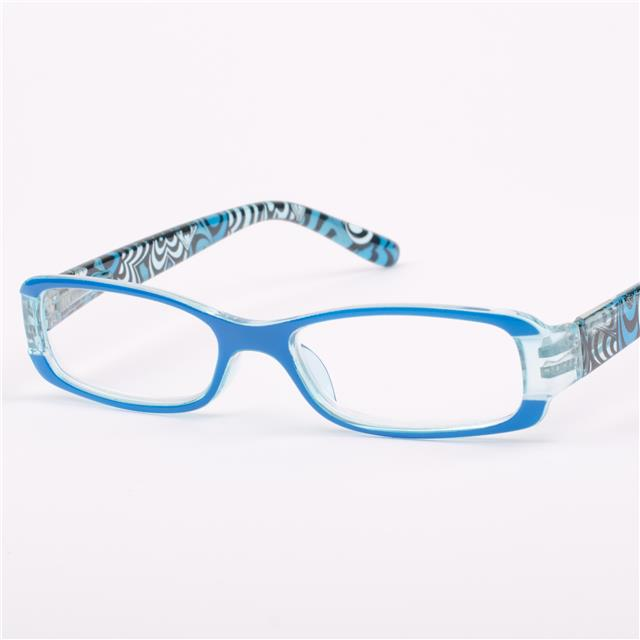 womens blue vintage retro reading glasses 1 00