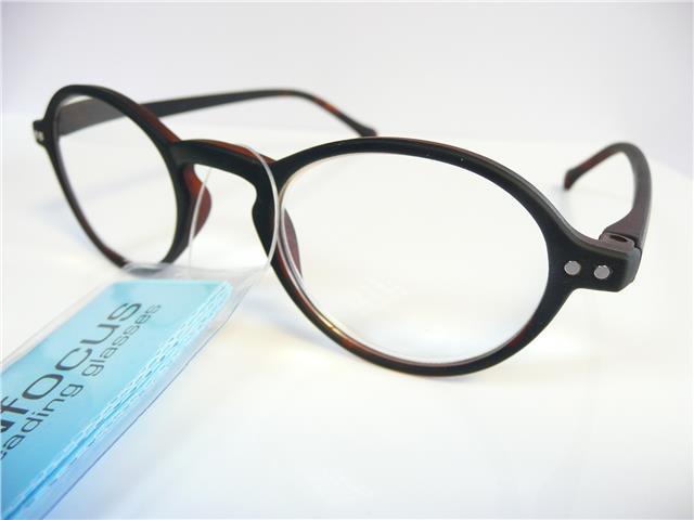 Mens Reading Glasses Round Frames : Mens Reading Glasses Round Frame New Retro Vintage +1.0+1 ...