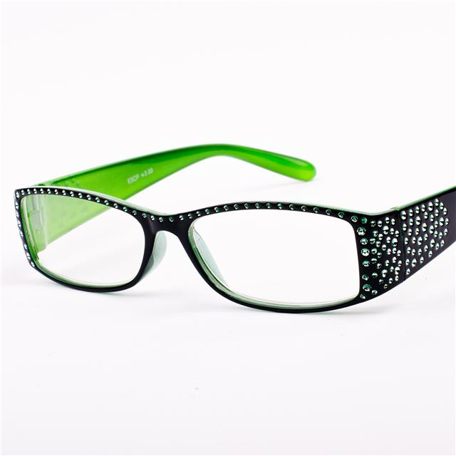 Rimless Eyeglass Frames With Bling : Rimless Rhinestone Reading Glasses Louisiana Bucket Brigade